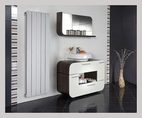 design alu paneelheizk rper aluminium paneel heizk rper mittelanschluss 1800x403 ebay. Black Bedroom Furniture Sets. Home Design Ideas