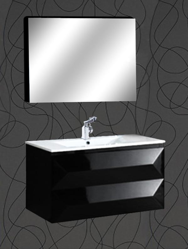 badm bel badset waschtisch weiss badezimmer spiegel unterschrank waschbecken ebay. Black Bedroom Furniture Sets. Home Design Ideas