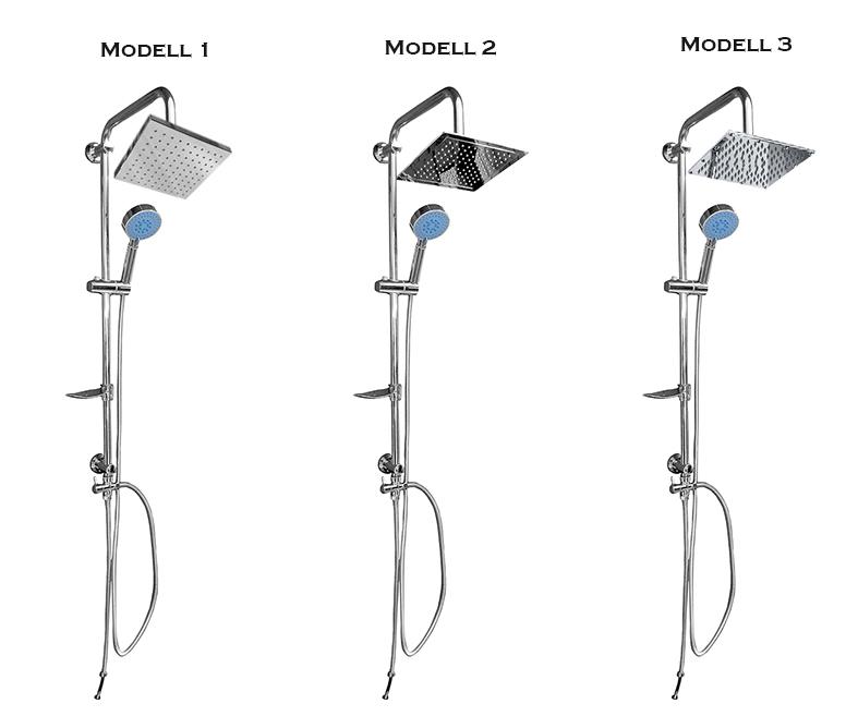 Regadera De Baño Definicion:Complete Overhead Showers