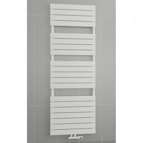 1500 x 450 mm Flach Weiß Badheizkörper Handtuchwärmer