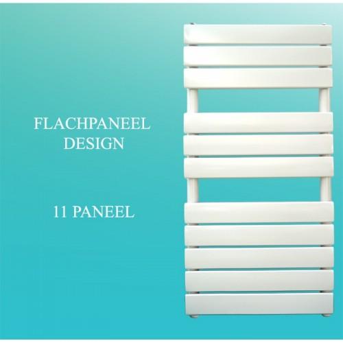 Badheizkörper Handtuchheizkörper 1200x500 Weiß Flachpaneel