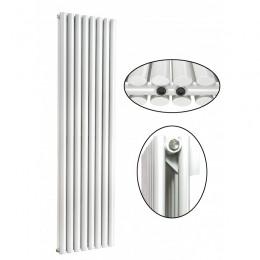 1800 x 560 mm Doppellagig Mittelanschluss Weiß Paneelheizkörper NEU Ellipse Design