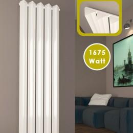 1600 x 530 mm Ein-Triple Seitenanschluss Paneelheizkörper Weiß