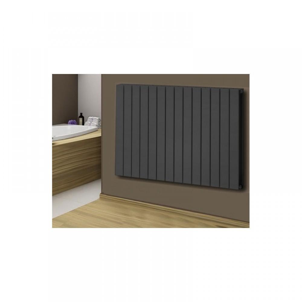 1155 x 600 mm doppellagig anthrazit flach heizk rper paneelheizk rper horizontal badheizk rper. Black Bedroom Furniture Sets. Home Design Ideas