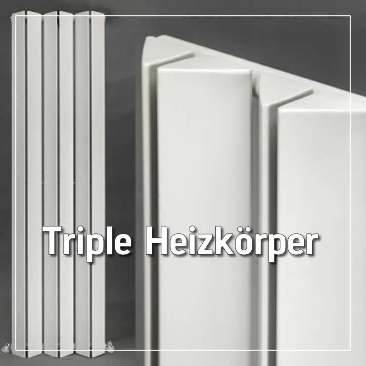 Triple Heizkörper